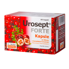 NOVINKA - Urosept® FORTE kapsle