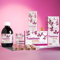 NOVINKA - Tusolven® sirup a pastilky
