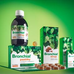 NOVINKA - Bronchial® sirup a pastilky