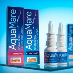 NEW - AquaMare sea water nasal sprays
