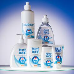 NOVINKA - Čisté ruce®  - čisticí gel na ruce
