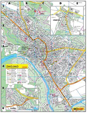 KF Regio - mapa