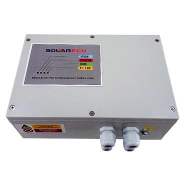 MPPT regulátor OPL 9AC 3kW - LED pro fotovoltaický ohřev vody se stavovými LED