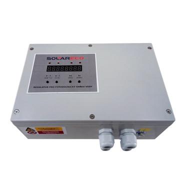 MPPT regulátor OPL 9AC 3kW - PUIT pro fotovoltaický ohřev vody se zobrazením veličin