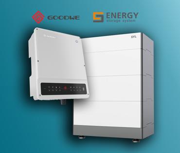 Sestava (Goodwe GW5K-ET) + (Risen/SYL Battery SET 11,1 kWh)