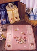 Dětská deka s patenty na sepnutí do fusáčku Nana Baby 80 x 90 cm, 6162