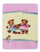 Medvídci - růžová 242053