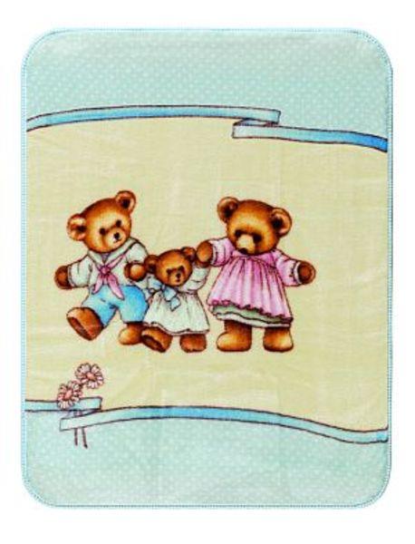 Medvídci - modrá 242060