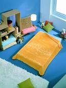 Velvet Baby Blanket 80 x 110 cm 6067