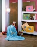 Velvet Baby Blanket 80 x 110 cm 6203 s výšivkou