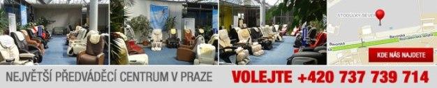 Kontak na masážní křesla v Praze