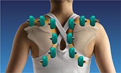Inada 3S - masáž horní části těla