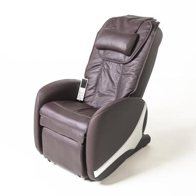 Hnědé masážní křeslo Relaxfit