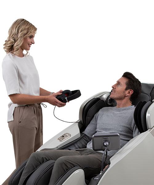 profesionální masážní křeslo Casada Skyliner II