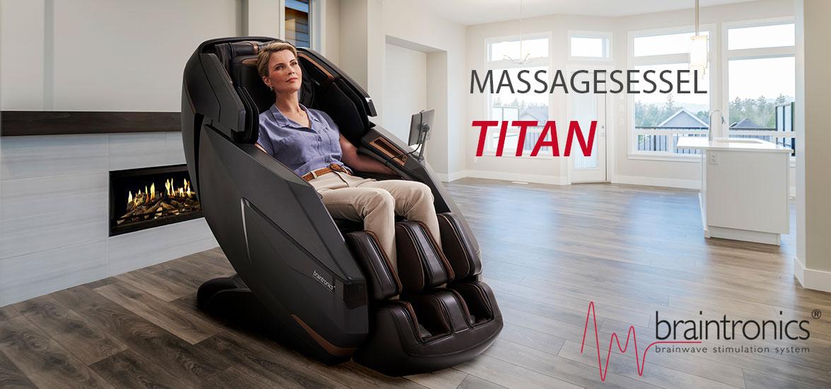 Titan - nejluxusnější masážní křeslo
