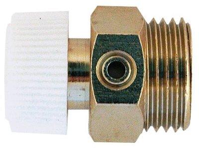 """Manuální odvzduš.ventil kovový 1/4""""    5040"""