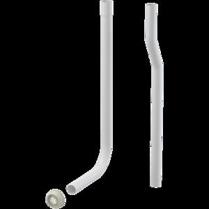 Trubice splachovací dělená pr. 32 mm + vrapová vložka