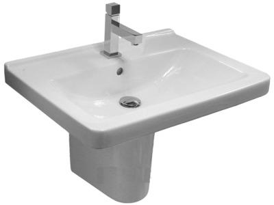 Umyvadlo 55 cm CUBITO  (s 1 otvorem)