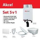 SET A100  ALCAMODUL+M270+91+A601+WC závěsná mísa