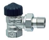 """HEIMEIER radiátorový ventil Standard DN 25-1"""" rohový 2201-04.000"""