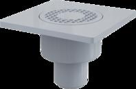 APV4 Podlahová vpust´150 x 150/50 přímá šedá
