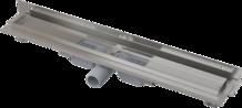 Nerezový podlahový žlab APZ104 flexible Low