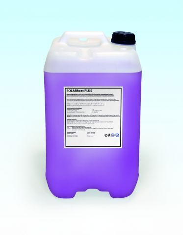 Teplonosná solární kapalina SOLARheat PLUS, kanystr 10l