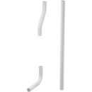 Trubice splachovací komplet pr. 35 mm
