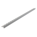 Nerezová lišta pro spádované podlahy oboustranná, tl.10mm, MAT