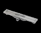 Nerezový podlahový žlab APZ101 LOW, snížený 650