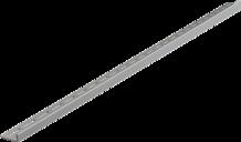 Nerezová lišta pro spádované podlahy - levá, tl.10mm, MAT