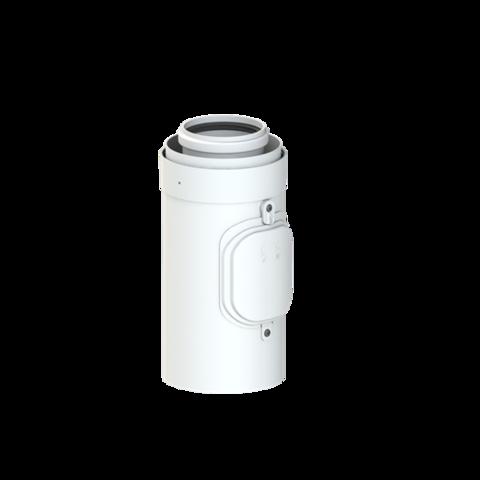 Kontrolní kus přímý 60/100 kondenz PPs/AL