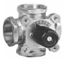 Čtyřcestný směšovací ventil 4MG 15-2,5 mosaz DN 15