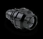 Spojka OR přímá redukovaná plastová 63-50