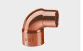 Koleno redukované 5090 R, DN22x18, měď