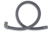 Pračková hadice vypouštěcí 100cm s kolenem