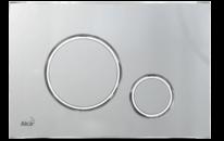 Ovládací tlačítko pro předstěnové instalační systémy chrom mat/chrom lesk