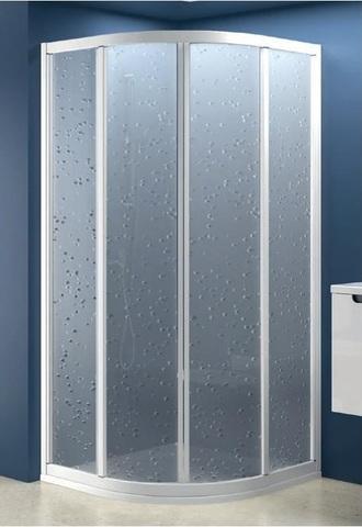 Sprchový kout SKCP4-90  bílá+pearl