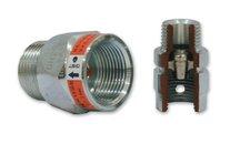 Bezpečnostní nadprůtoková pojistka GST typ L - FM DN25 6 m3/h