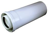 Prodloužení pr. 80/125, L=500mm PP/plech A2010001