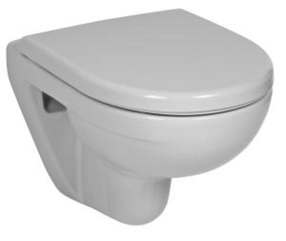 WC závěsný  LYRA PLUS COMPACT H8233820000001