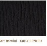 Látka na sedací soupravy Bardini 458 Nero