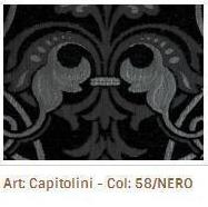 Látka na sedací soupravy Capetolini 58 Nero