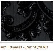 Látka na sedací soupravy Frenesia 58 Nero