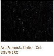Látka na sedací soupravy Frenesia Unito 358 Nero