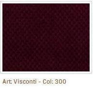 Bordová látka Visconti 300