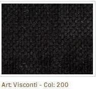 Černá látka Visconti 200
