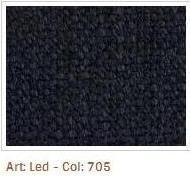 Černomodrá látka Led 705