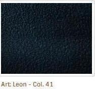 Černomodrá barva látky Leon 41