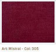 Červená látka Mistral 305
